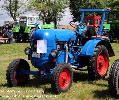DDR-Landmaschinen Traktoren
